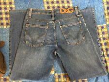 jeans dolce&gabbana blu chiari denim taglia 30-31 elastici man uomo 44-46 jean's