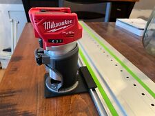 Milwaukee Router Adapter to Festool Track Saw Guide Rail - M18 2723-20