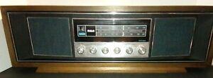 Vintage RCA RLC75W Stereo/Radio-Dark Wood-Works & Great Sound and Base! 1940-50s