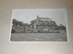 EARLY 1925  REAL PHOTO PC - RANWORTH, NORFOLK BROADS, NORFOLK