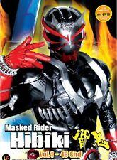 DVD Kamen Masked Rider Hibiki ( TV 1-48 End ) DVD + BONUS DVD + Free Postage