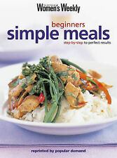 Beginners Simple Meals by AUSTRALIAN WOMEN'S WEEKLY  (Paperback, 2002)