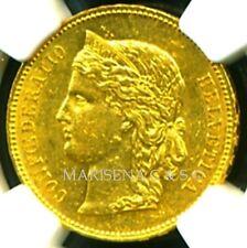 SWITZERLAND 1891 B GOLD COIN 20 FRANCS * NGC CERTIFIED GENUINE AU 55 * SPLENDID