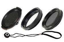 37 mm Set: obiettivo coperchio & Coperchio Supporto & Filtro UV Polarizzatore &
