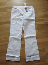cotton traders white stretch jeans bootcut size 20 leg 35 brand new with tags