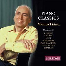 CD PIANO CLASSICS TIRIMO DEBUSSY CHOPIN LISZT BRAHMS BEETHOVEN SCHUMANN SCUBERT