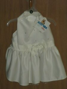 Petco Special Occasions Large Here comes the Bride Dog Sparkle Dress 16 - 18 IN
