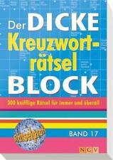 Der dicke Kreuzworträtsel-Block Band 17 (2014, Taschenbuch)