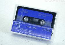 "JVC VT752 Test Tape ""SEPARATION TEST 1kHz -10dB"" f Cassette Deck OVP/NOS/NEU/RaR"
