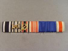 7er Feldspange: Eisernes Kreuz, Preuß. Kriegerbund, Ehrenlegion, 2x DA, AT