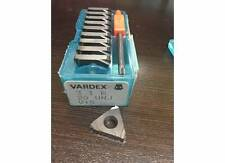 Vardex Carbide Inserts 3 I R 20 UNJ V15 #h124