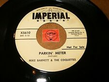 MIKE BARNETT & THE COQUETTES - PARKIN METER - RICKY  / LISTEN - VOCAL GROUP ROCK