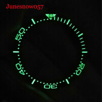 Hot Luminous 38mm Watch Ring Bezel Insert Fit for 40mm Automatic Men's Watch