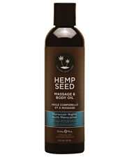 EARTHLY BODY HEMP SEED MASSAGE & BODY ALL NATURAL OIL - MOROCCAN NIGHTS