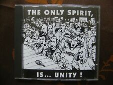 CD Various ‎– The Only Spirit Is...Unity / S.P.E Records,Dim Records  SPE CD 01