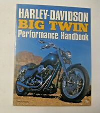 VINTAGE 1995 HARLEY DAVIDSON MOTORCYCLES BIG TWIN PERFORMANCE HANDBOOK