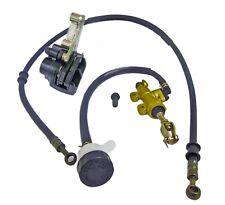 Universal Hydraulic Brake Disc Caliper & Master Cylinder Kit Go Kart Yerf-Dog