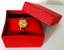 Montre Tissot Femme Plaquée Or Révisée Women's Watch Serviced Gold Plated