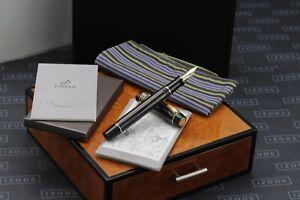Parker Duofold Centennial Pinstripe Chocolate Special Edition Fountain Pen
