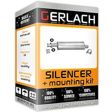 Silencer for Fiat Ducato 1.9 TD 2.5 D motorhome/caravan exhaust middle 2694