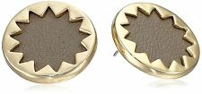 House of Harlow 1960 Sunburst Button Earrings gold New Free Shipping