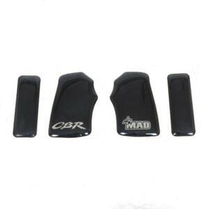 Protection te de fourche Mad noir pour moto Honda 1000 CBR RR 2004 à 2006 Neuf