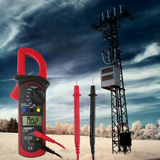 Digital Auto Range Clamp Multimeter Tester 1999 Meter DMM AC DC Volt Ohm Amp LCD