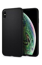 Spigen Liquid Air Armor Apple IPhone XS MAX Case Matte Black PLUS Screen Protecr