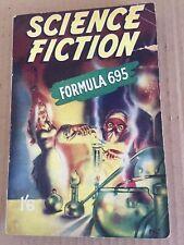 British Science Fiction Pulp Paperback. 1950's.