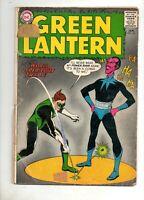 Green Lantern #18 SINESTRO COVER & STORY!  Good- 1.8; 1963 DC