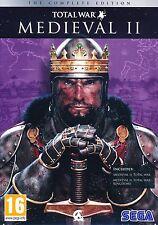 Medieval 2 Total War-La Colección Completa (Pc Dvd) Nuevo Sellado