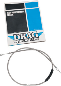 """Drag Specialties Braided 68 11/16"""" Clutch Cable for 92-05 Harley Dyna FXDWG FXDL"""