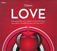 CLASSIC LOVE - VARIOUS ARTISTS (NEW SEALED 3CD) Elton John, Barry White,ABC