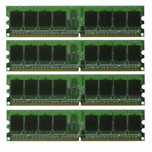4GB 4X1GB DDR2-533 PC2-4200 240pin 533mhz pc4200 desktop memory RAM NON-ECC