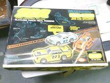 Ideal TCR Slot Car Total Control Racing 1977 Lighted Blazers Jam Car Race Set
