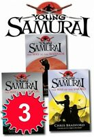 Chris Bradford Set Young Samurai Series Pack 3 Books Collection NEW