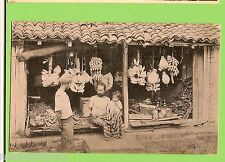 #F.  POSTCARD -  CEYLON, NATIVE FRUIT SHOP, COLOMBO