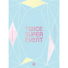 TWICE SUPER EVENT DVD K-POP PHOTOBOOK + 9 PHOTOCARD SET LIMITED EDITION SEALED
