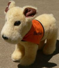 Baxter Therapy Dog puppy plush toy orange vest Rare stuffed animal tribute 2009