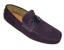 1040 New Purple Casual Classic LOAFER DRIVING SLIP ON MOCCASIN Mens Shoes Sz 8