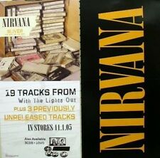 Nirvana 2005 sliver long 2 sided promotional poster ~New & Mint~!