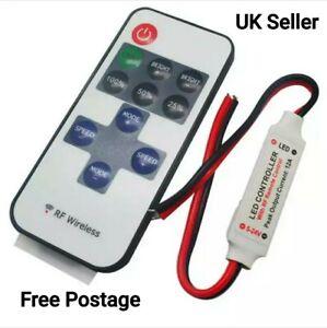 12V Remote on/off & Dimmer for led lights Camper van