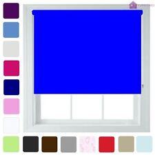 Cortinas y visillos color principal azul salón
