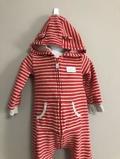 1417ac762 CARTER'S Boy striped Sleepwear with hoodie and ears size 18 months