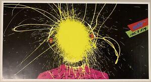 Triple J Exploding Head Poster