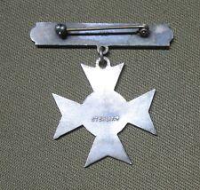 M1937 USMC Sharpshooter Badge- Sterling