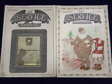 1919 & 1920 THE SERVICE MAGAZINE LOT OF 4 ISSUES - NICE PHOTOS - J 1979
