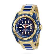 Invicta 29589 Men's Hydromax Gold-Tone and Blue Dial Date Watch