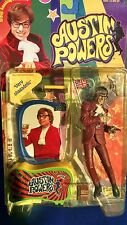 "Austin Powers 6"" Talking Figure Red Suit ""Very shagadelic"" McFarlane 1999 New!"