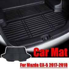 Car Rear Trunk Boot Liner Mat Tray Cargo Floor Carpet For Mazda CX-5 2017-2018